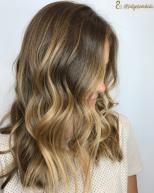 Balayage on natural hair